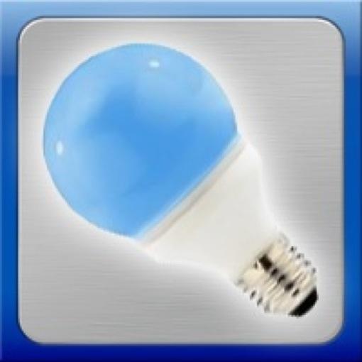 Lampadina e27 230v led colore blu luce lunare acquario ebay for Lampadina led blu