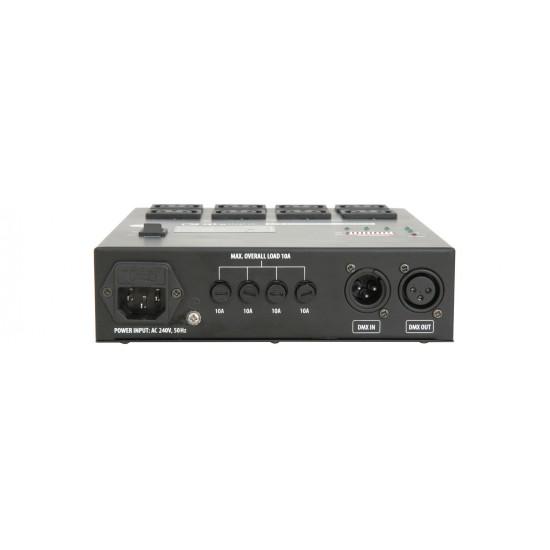 Centralina Luci Rele Pack MultiDim RP4 Channel DMX