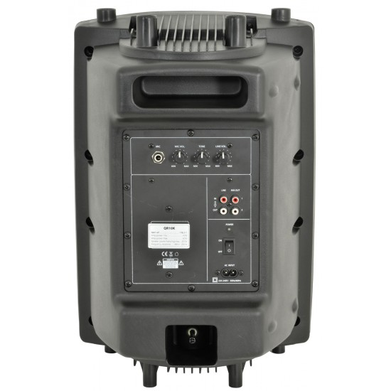 Cassa acustica attiva amplificata woofer 250mm 10 pollici 25cm QR10K 200W