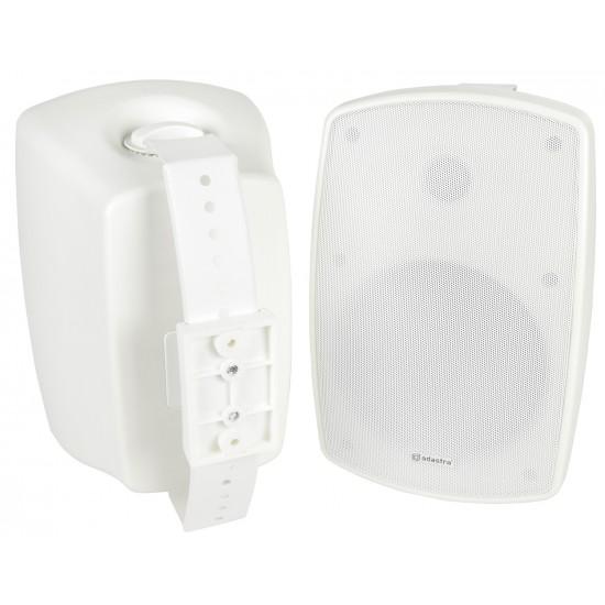 Coppia casse acustiche per esterno IP44 hi-fi da muro 140W bianche - BH6