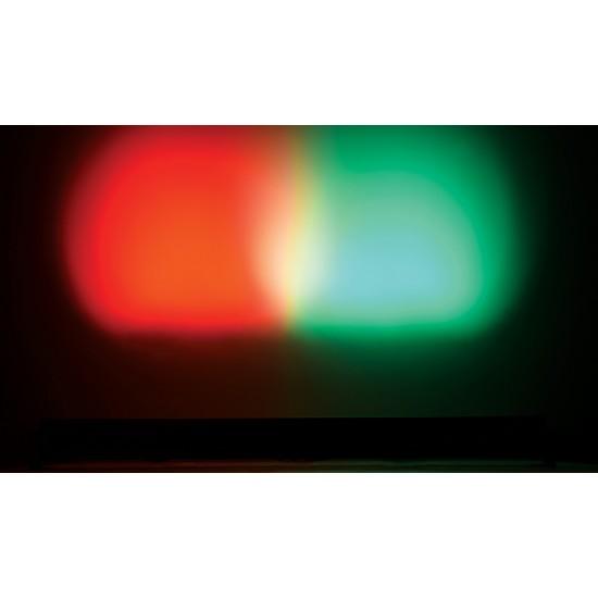 Effetto Luce Barra LED con 24 LED RGB da 3W e DMX