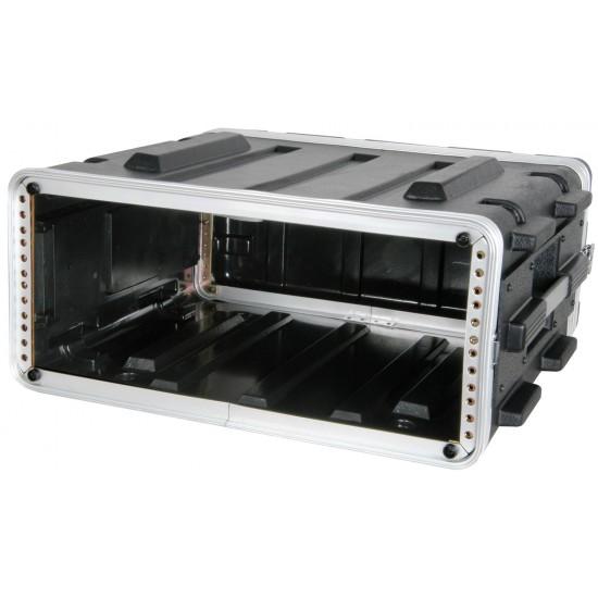 """Custodia per rack in ABS valigetta protettiva per il trasporto attrezzature da 19"""" altezza 4U"""