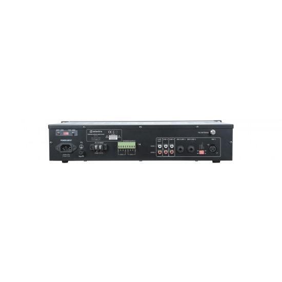Amplificatore Multizona 2 x 120W con mixer amplificato bluetooth radio usb sd mp3 - RM1202