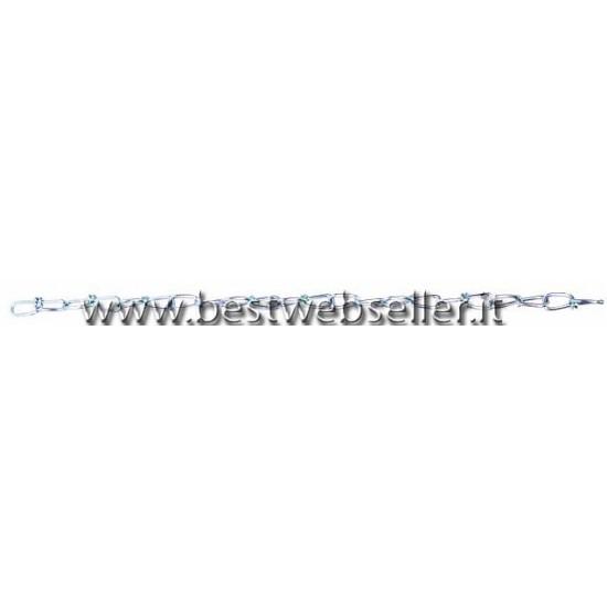 Sfera Specchiata chain -40cm, 33cm long