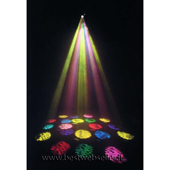 OFFERTA - Effetto Luce Proiettore Decorativo Logo Flower 250W
