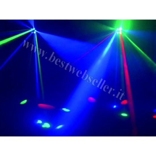 Effetto Luce Eurolite Moonflower LED RGB MF-3 + STROBO