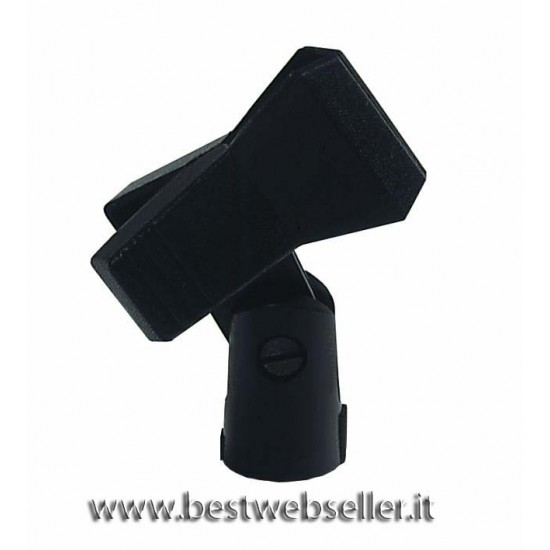 """""""Microfono clamp MCK-25 colore nero, 5/8"""""""""""""""
