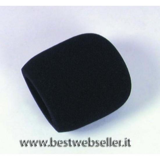 Antivento Per Microfono, colore nero, d=40-50 mm