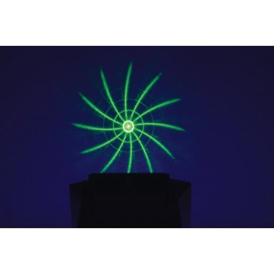 EFFETTO LUCE LED 4 in 1 DERBY STROBO UV LASER