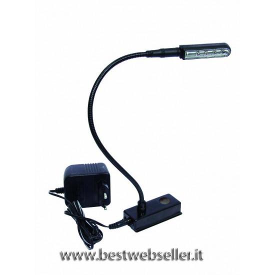 Flexilight LED gooseneck,w/trans./dimmer