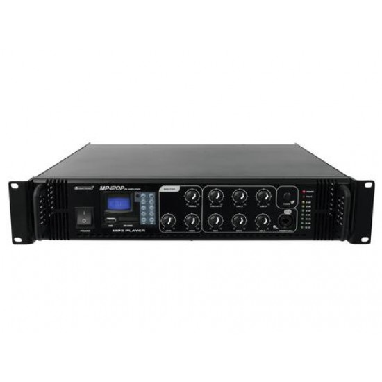 Amplificatore MP-120P PA mixing amplifier