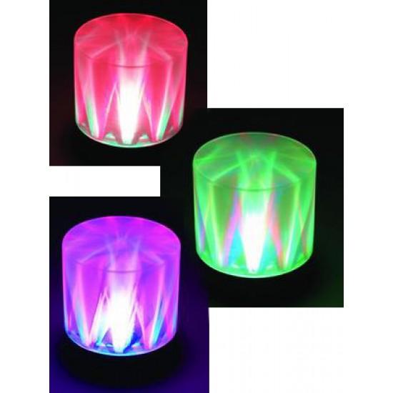Lampada Effetto Luce Led Eurolite DLD-5 RGB Cambiacolori + Effetto Strobo