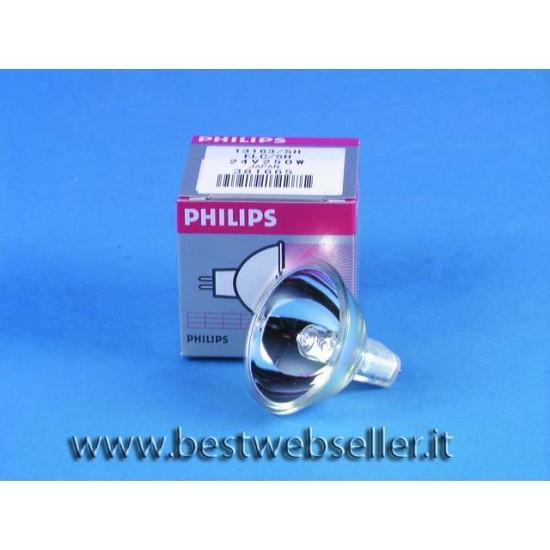 PHILIPS ELC 24V/250W GX-5.3 500h 50mm ref