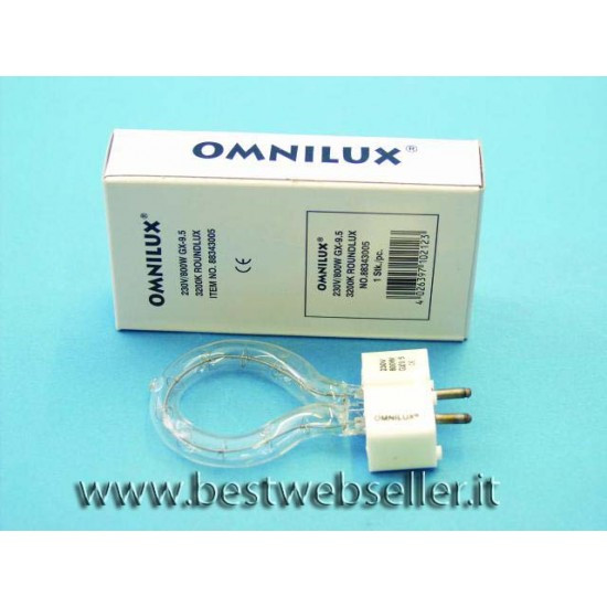 OMNILUX 230V/800W GX-9.5 3200K roundlux