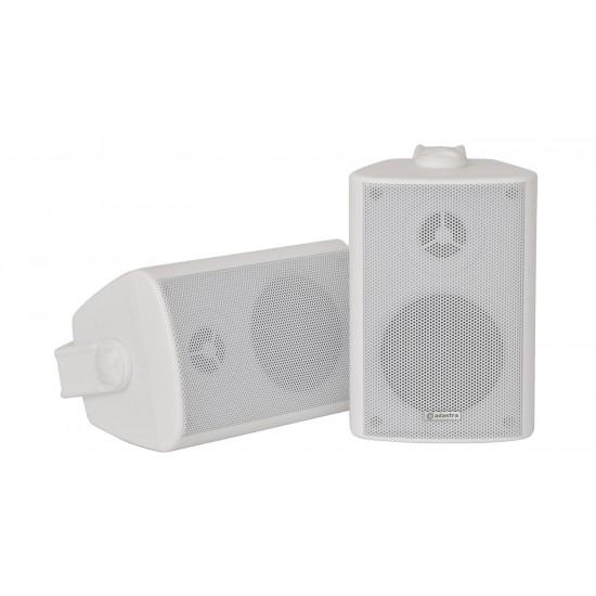 Coppia casse acustiche da muro 60W bianche - BC3W