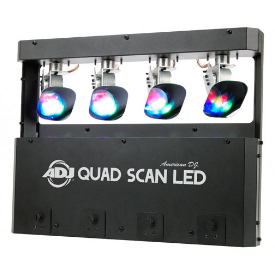 Effetto Luce Scanner American Dj Kit Quad Scan LED