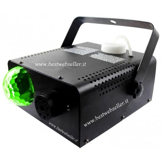 Macchina Del Fumo + Effetto Luce LED + Telecomando
