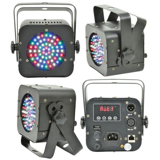 Effetto Luce Par Led RGBW DMX SL36 Con Microfono Interno