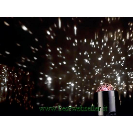 Lampada Proiettore Di Stelle e Galassie LED + 24 Scenari