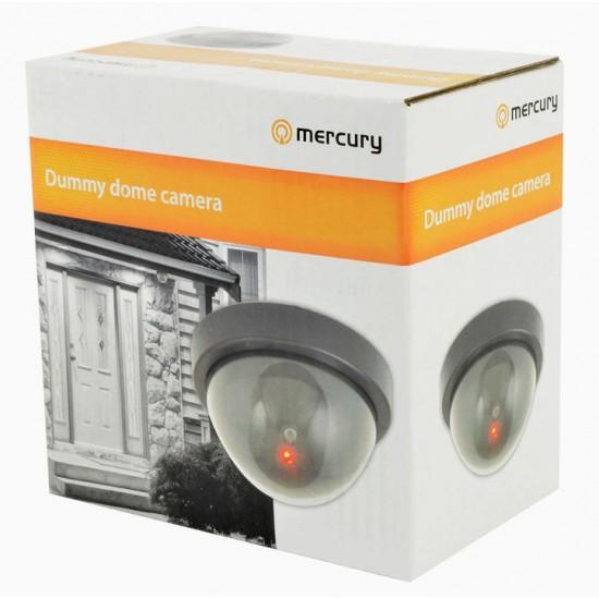 Telecamera finta dummy dome camera con 1 led infrarossi