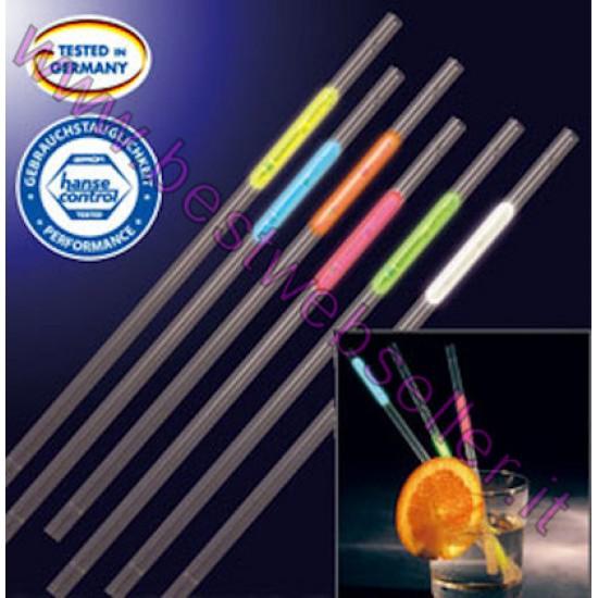 Set Cannucce Luminose in 6 colori