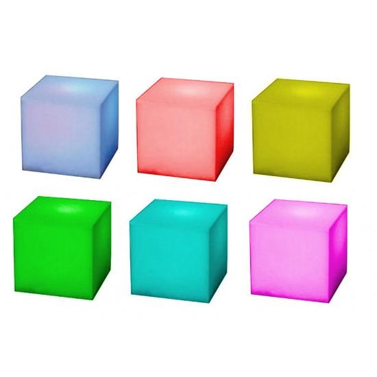 Cubo LED Cambiacolori - 3 Led UltraBright