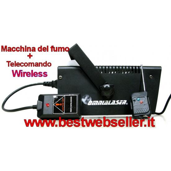Macchina Del Fumo OL-F800 Con Telecomando Wireless 400W