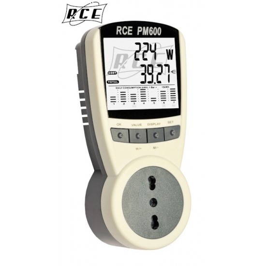 Misuratore Professionale Di Consumo Energia Elettrica RCE PM600