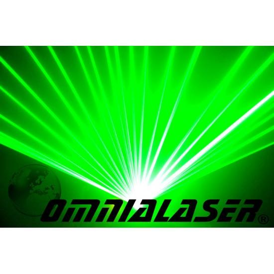 OmniaLaser - Effetto Luce Laser LaserShow Verde OL-150G DMX