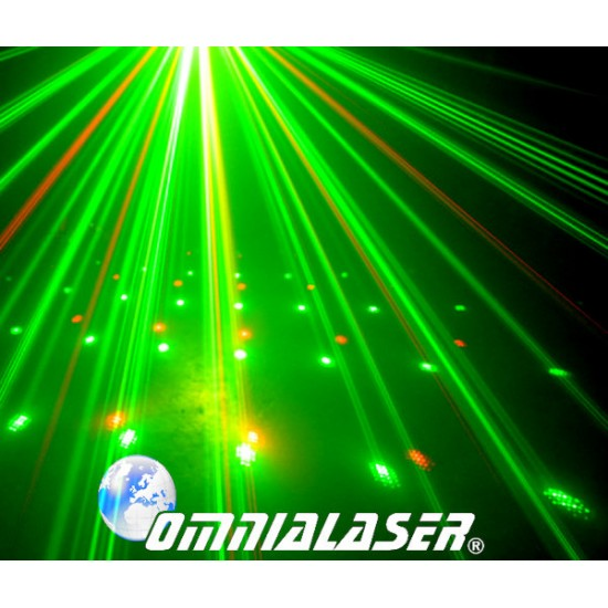 OFFERTA - Effetto Luce Laser LaserShow AUTOMOBILE OL-A200RG