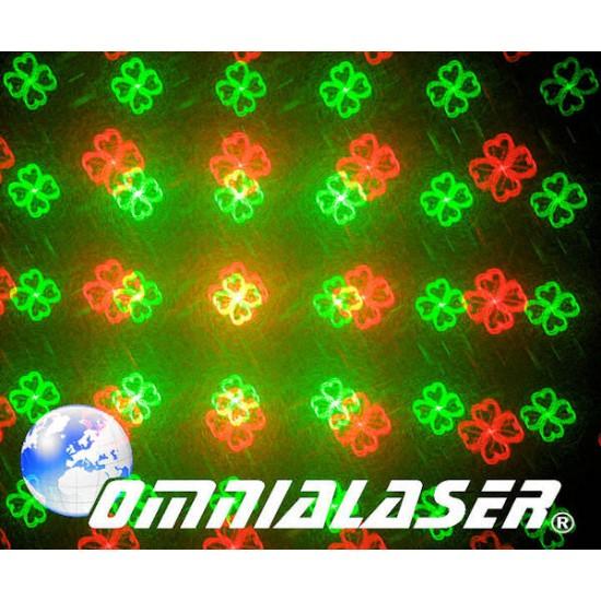 OmniaLaser - Effetto Luce Laser Stellare OL-GOB16RG GOBOS