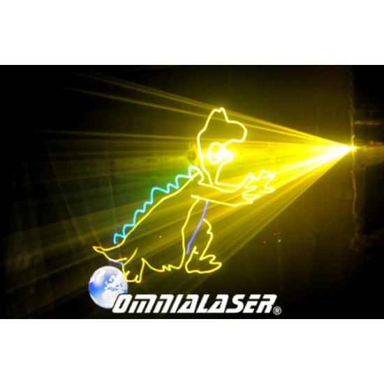 OmniaLaser - Laser 10 Watt Animazione ILDA DMX OL-PRO10WRGB 40K