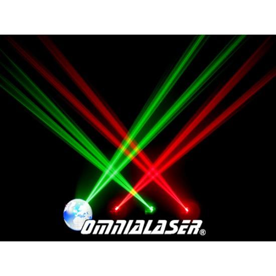 OmniaLaser - Effetto Luce Laser LaserShow RG DMX OL-Q400RG