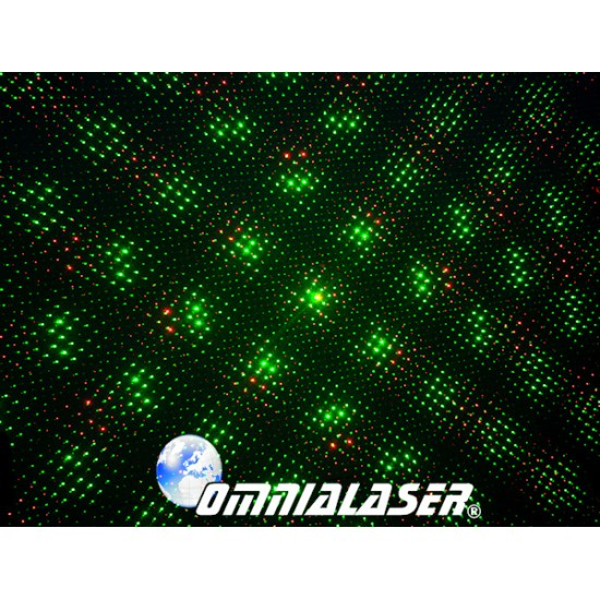 OmniaLaser - Effetto Luce Laser Stellare RG DMX OL-S1200RG