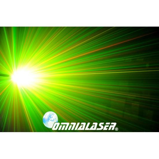 OmniaLaser - Effetto Luce Laser Stellare RG DMX OL-S400RG