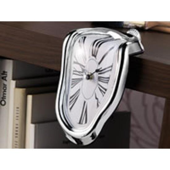 Oggetto Decorativo Di Design - Orologio Deformato