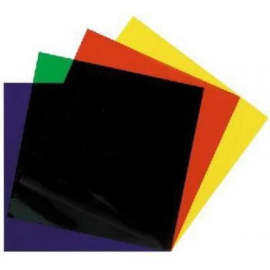 Set Di Filtri / Gelatine Pretagliati Per Par64 - 6 Colori