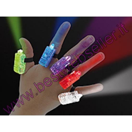 5 Luci led Decorative Per Le Mani - da applicare sulle dita