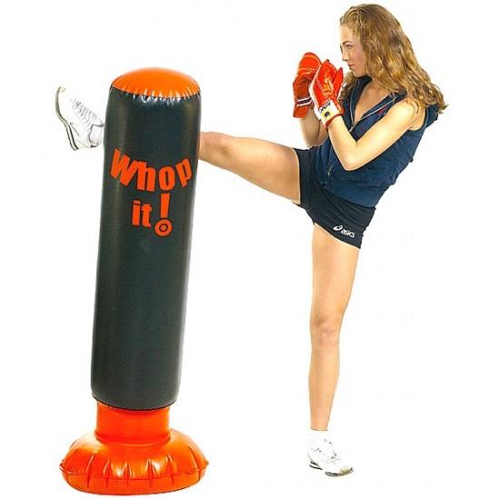 Sacco Pedana Karate Boxe Fitboxe Soft Punch Box NUOVO