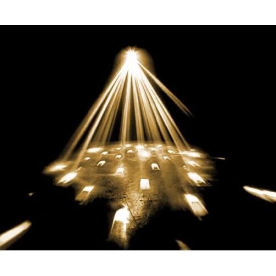 Effetto luce Discoteca Moonflower LED Twister IV