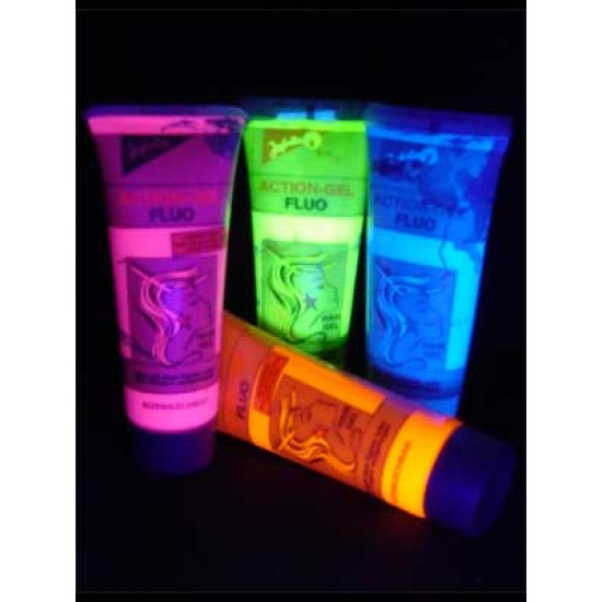 Gel Per Capelli Reagente UV Per Feste Party Dj - Verde