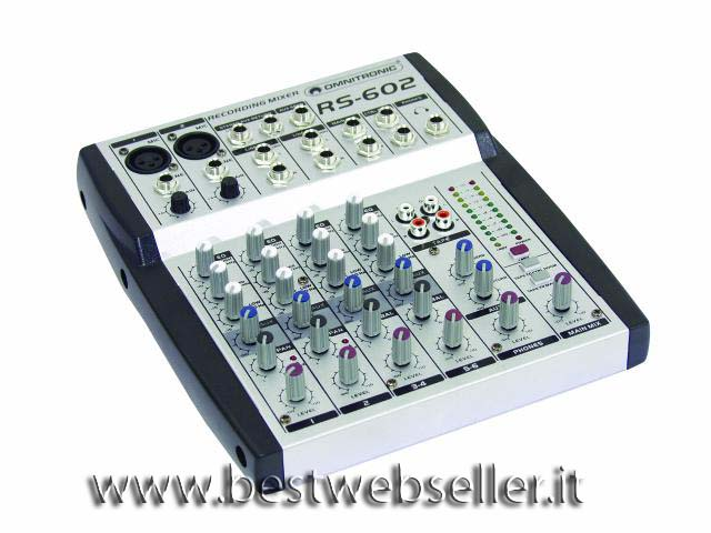 OMNITRONIC RS-602 Recording mixer