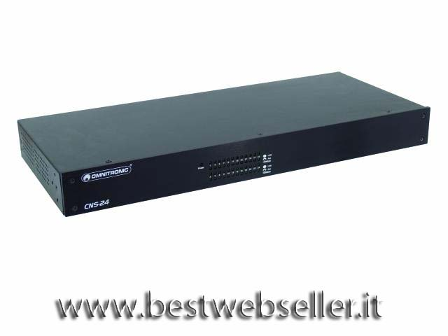 OMNITRONIC CNS-24 Audio network switch