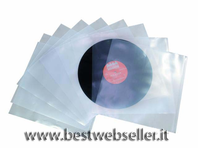 Plastic-covers per LPs, 100 pcs.