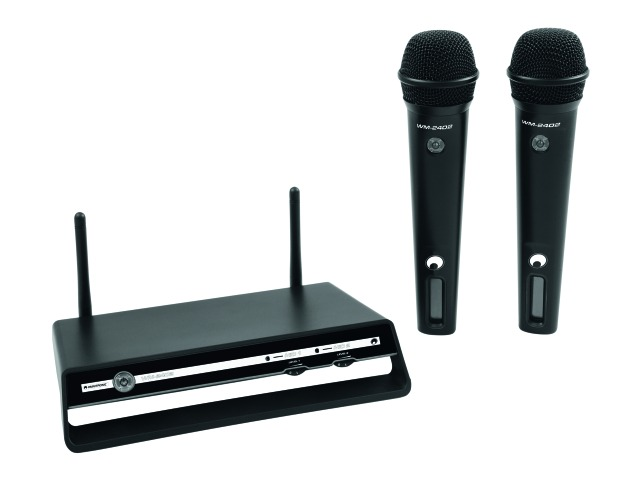 OMNITRONIC WM-2402 Wireless mic system