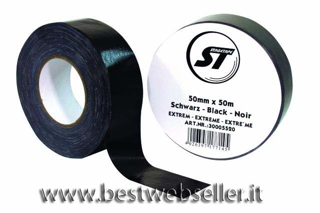 Stagetape EXTREM 50mm x 50m colore nero