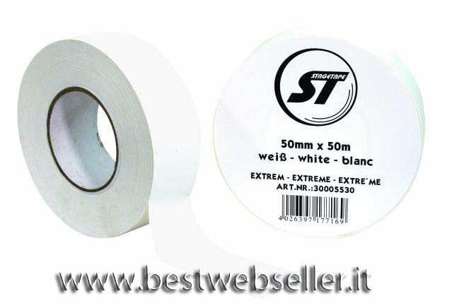 Stagetape EXTREM 50mm x 50m colore bianco