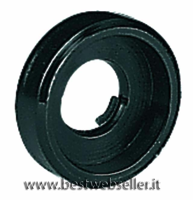 Plastic washer, colore nero, grande (recessed)