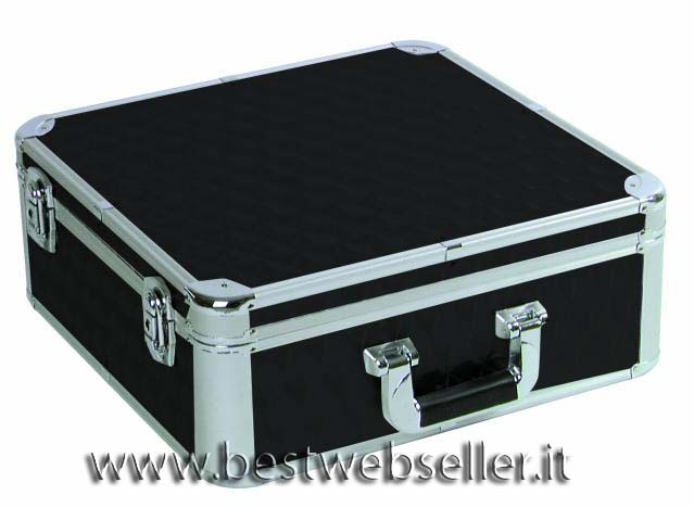 CD case colore nero per 100 CDs