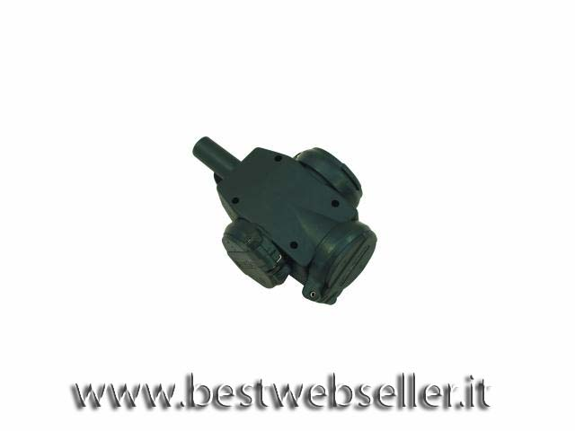 Distributor three-way rubber IP44